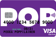 POP Visa Electron