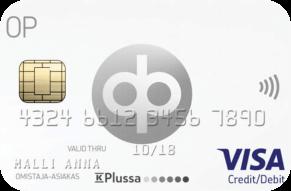OP Visa luottokortti