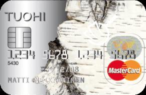 Tuohi Mastercard luottokortti