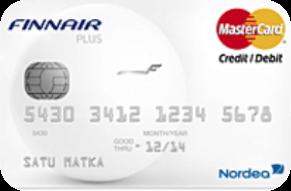 Finnair Plus Mastercard Luottokortti