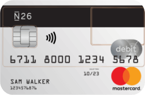 N26 Mastercard luottokortti