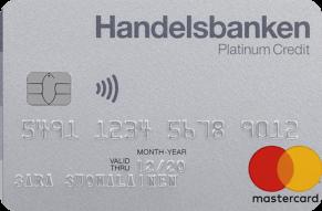 Handelsbanken Platinum luottokortti