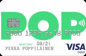 POP Visa Debit maksukortti