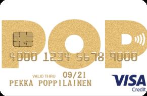 POP Visa Gold luottokortti