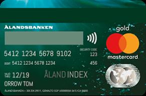 Ålandsbanken MasterCard Premium Gold Luottokortti