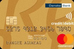 Danske Bank Mastercard Gold luottokortti