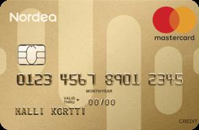 Nordea Gold Luottokortti