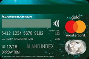 Ålandsbanken MasterCard Private Banking Gold luottokortti